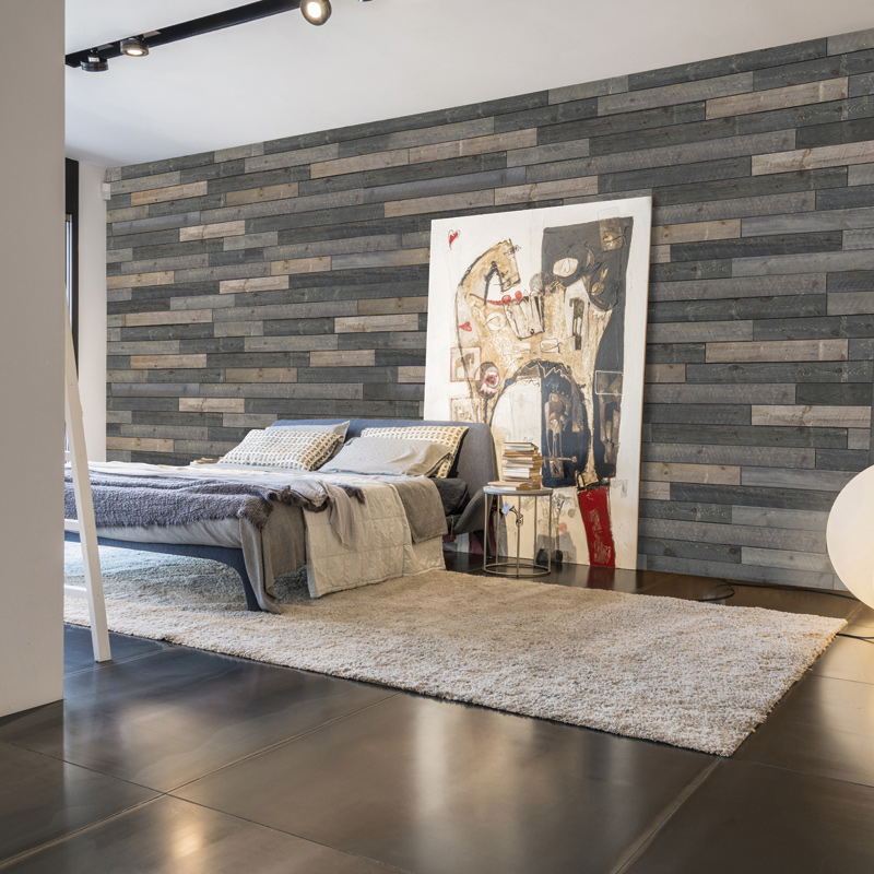 Wall concept Elevation wood wall bedroom