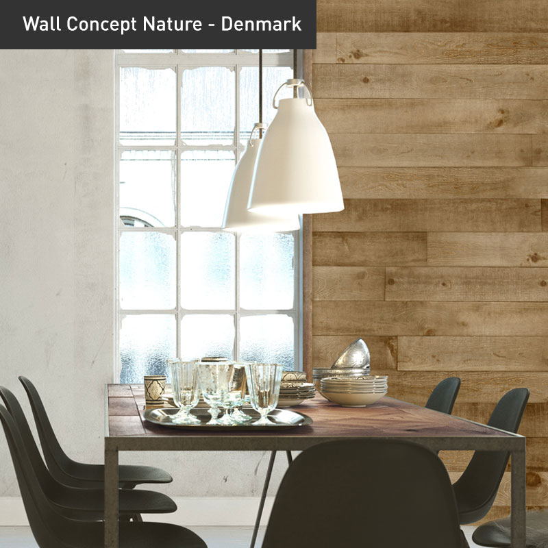Shamrock Wall Concept Nature Denmark decor